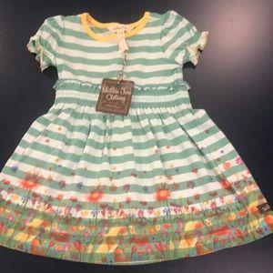 NWT Matilda Jane 12-18 month stripe dress